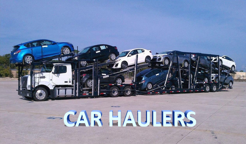 Car hauler construction