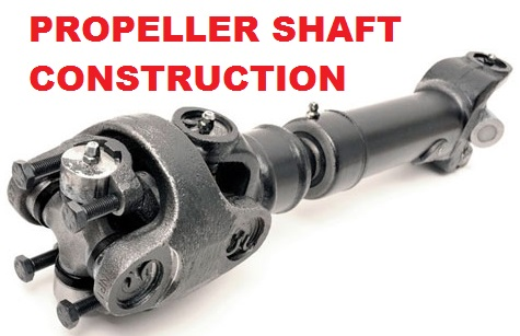 Propeller shaft construction