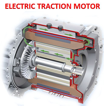 Electric Traction motor
