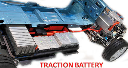 Traction bettery