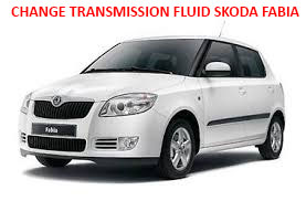 How does change manual transmission fluid Skoda Fabia