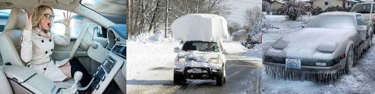 TOP 5 common mistakes drivers in winter