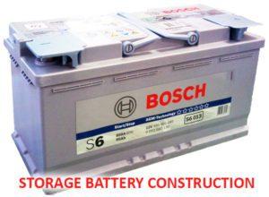 Storage Battery Construction BOSCH