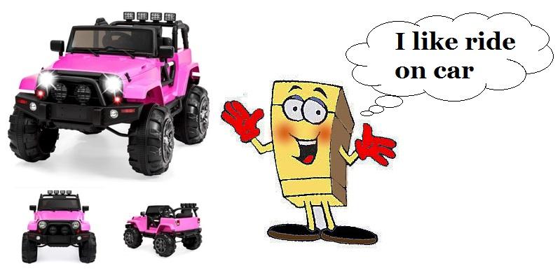 Ride on Car SpongeBob