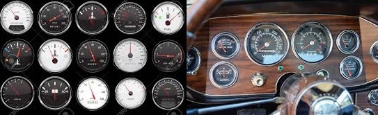 Types of car gauges