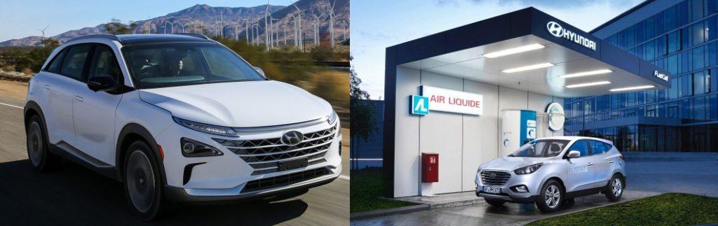 Hyundai NEXO fuel cell technology work