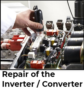 Repair of the Inverter / Converter in EV
