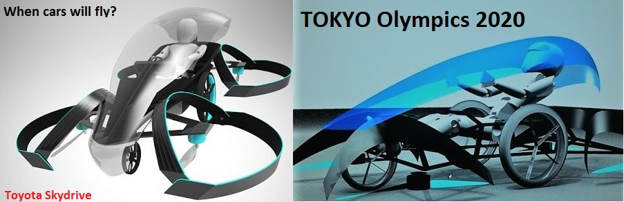 Toyota flying cars come out