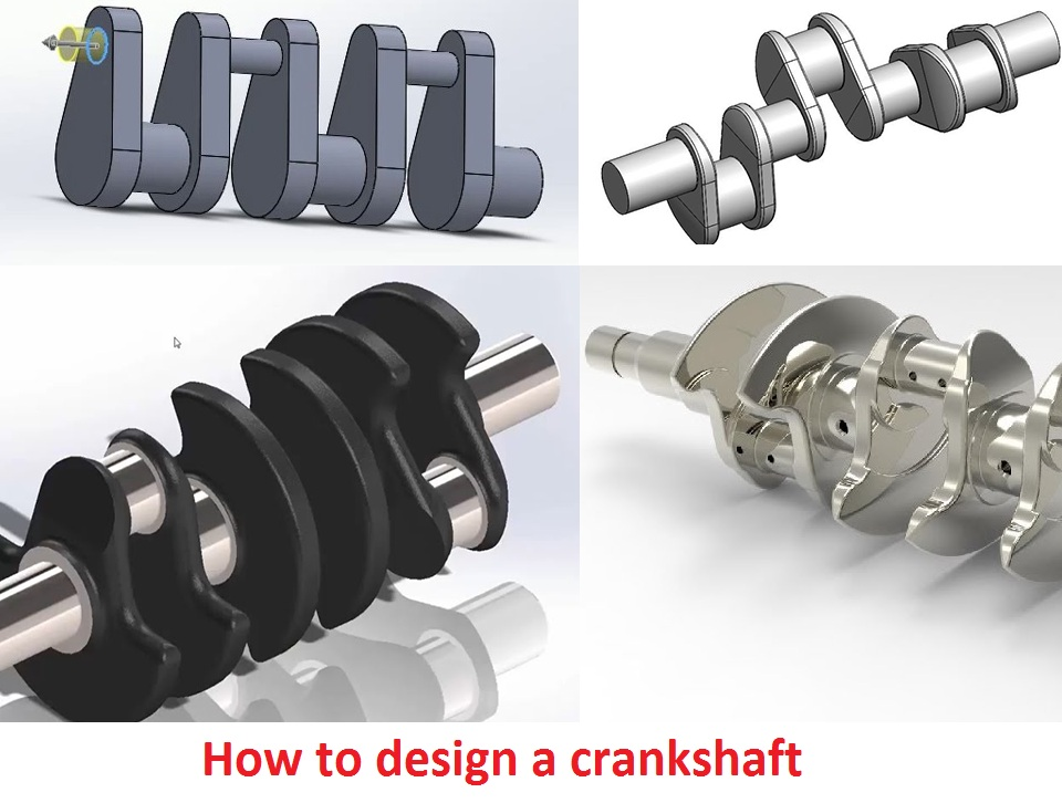 How to design a crankshaft