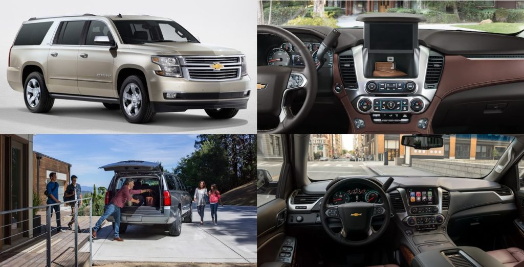 Chevrolet Suburban most giant SUV