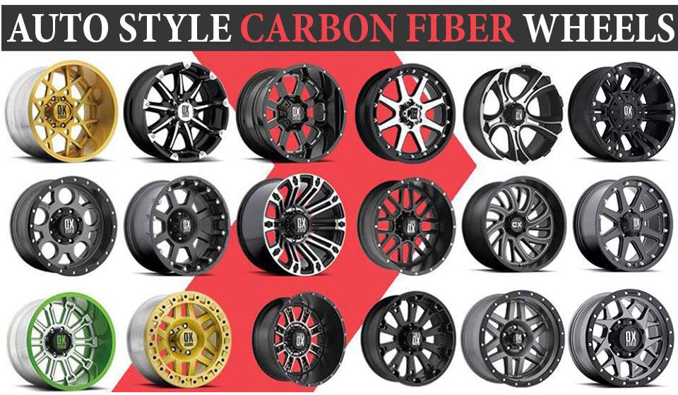Carbon fiber Wheels Style