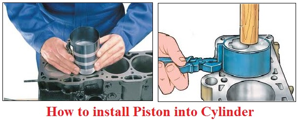 How to install Piston into Cylinder