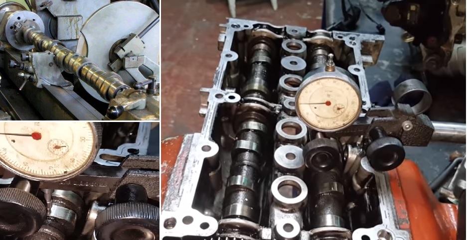 Camshaft repair damages