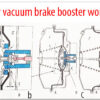 How vacuum brake booster works?