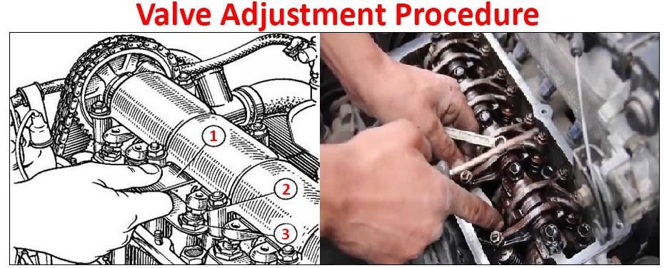 Engine Valve Adjustment