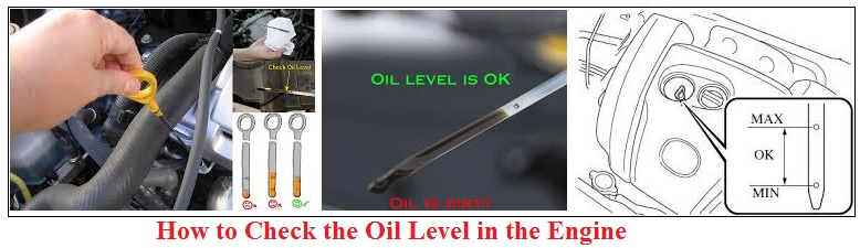 How to Check the Oil Level Engine