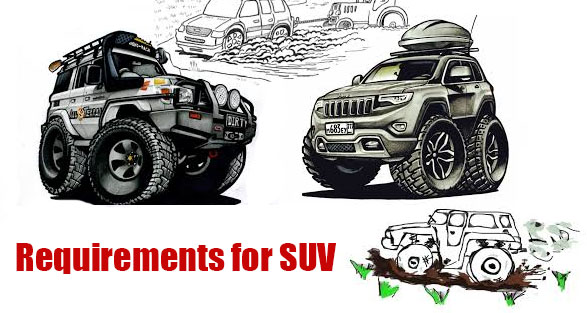 Requirements for SUV