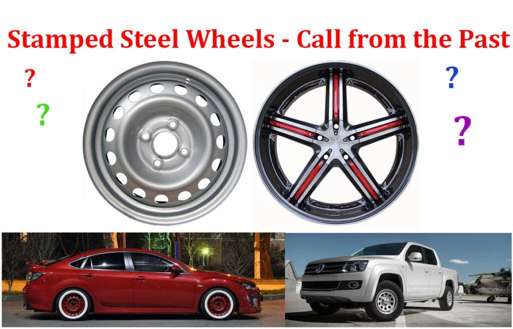 Stamped wheels