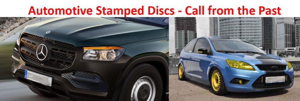 Car stamped disks