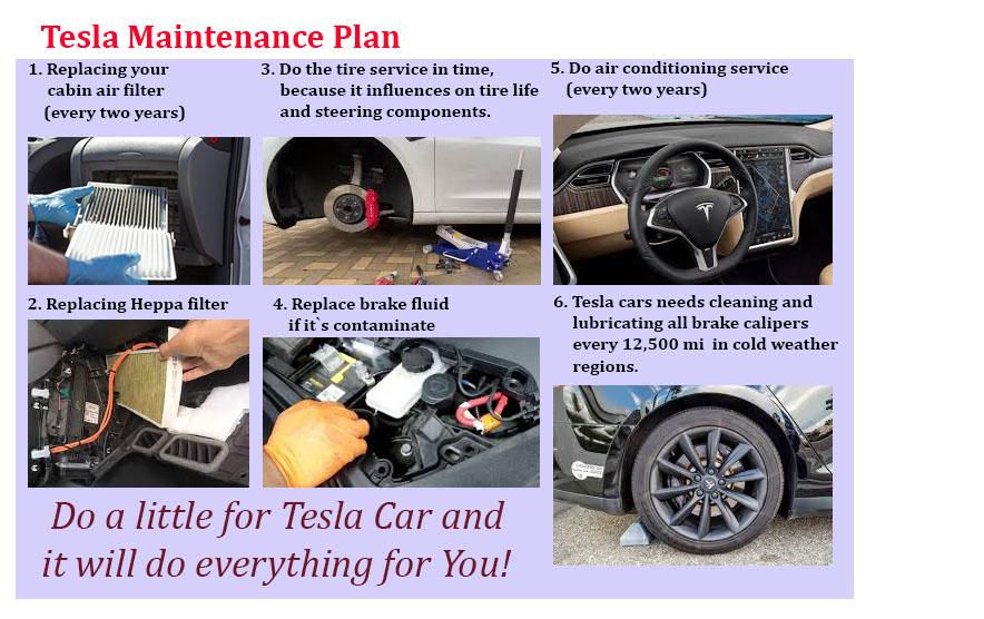 Tesla Maintenance Plan