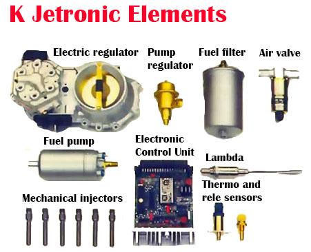 K Jetronic elements