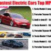 Tesla is fastest electric car