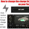 How to adjust the charge limit on your Tesla
